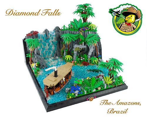 Smell the adventure in the jungle air!   MAQUETTE LEGO   Pinterest ...