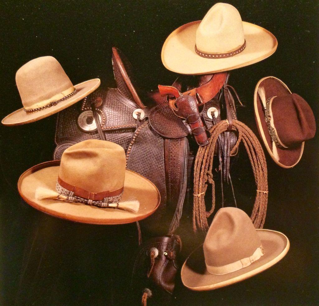 Antique Stetson cowboy hats.  4af61d9f2e7e