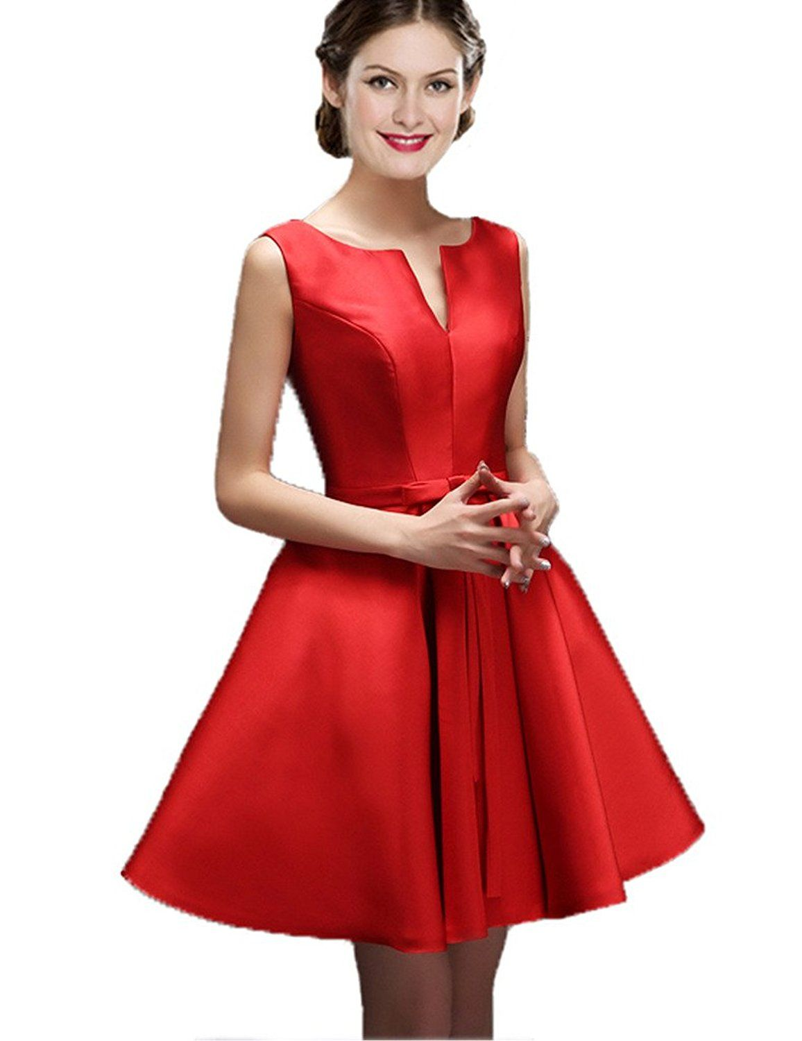 Color e dress womenus short vneck evening dresses bridesmaid