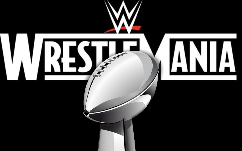 Wwe Planning To Upstage Super Bowl With Wrestlemania Numbers Wrestlemania Wwe Super Bowl