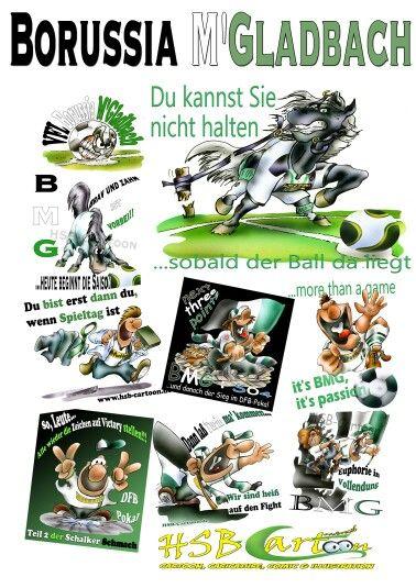 Borussia Cartons Vfl Borussia Monchengladbach Borussia Borussia Monchengladbach