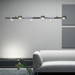 Photo of Top Light Puk Ceiling Sixtett Pendelleuchte, Halogen, nickel matt Top LightTop Light – Mein Blog