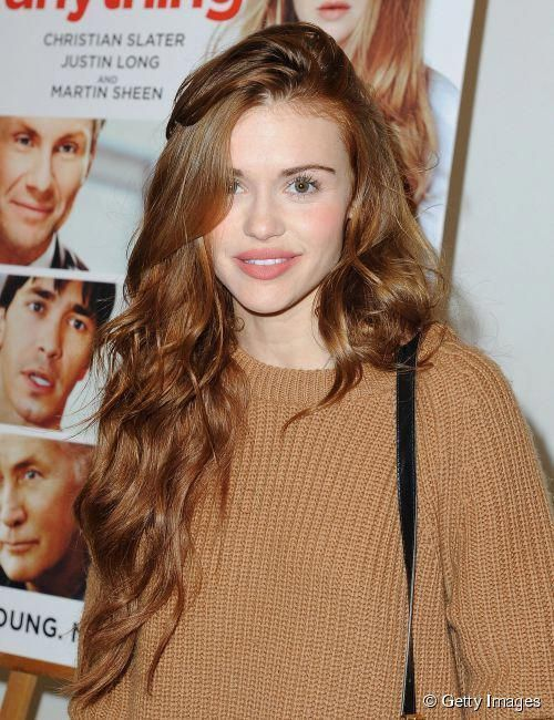 Holland Roden at the screening of 'Ask Me Anything on December 17, 2014 #Longhaircurls