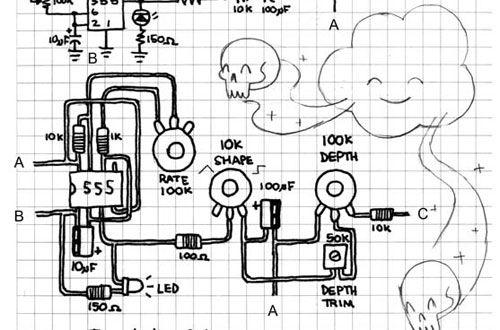Circuit Bending Schematics Modd3d Circuit Bent In 2019