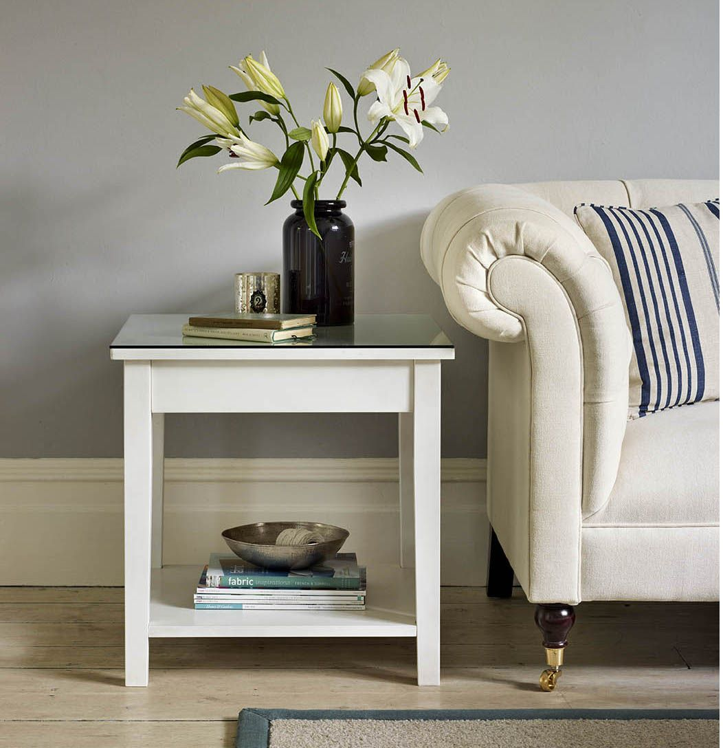 Tuvan sofa side table - The Dormy House | Coffee & side tables ...