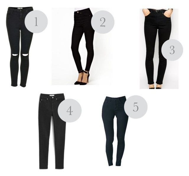 """Black jeans"" by soloesmafer on Polyvore"