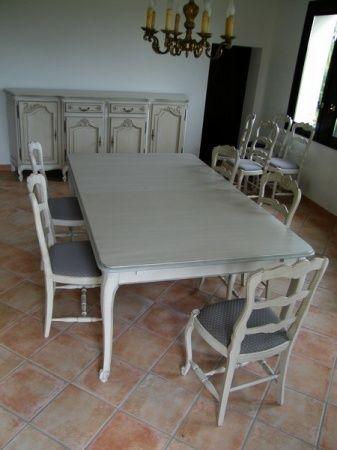 Comment actualiser mes meubles Louis XV pour leur donner un aspect - salle a manger louis