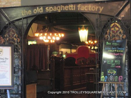 The Old Spaghetti Factory At Trolley Square 3 Eat Like Kings