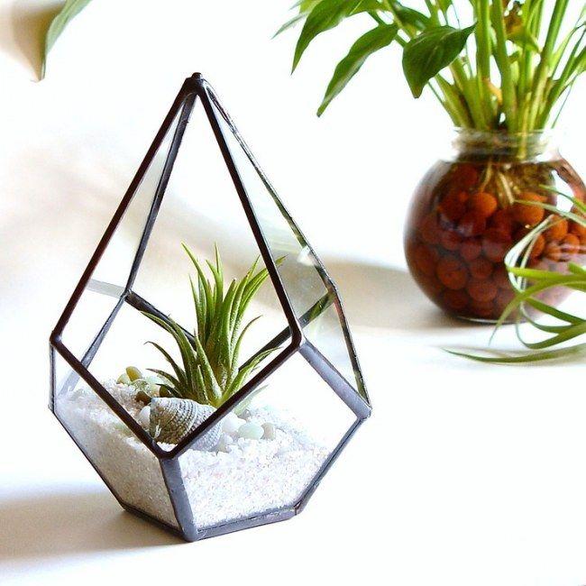 terrarium comment faire un terrarium jardinage pinterest terrarium vitrail et deco. Black Bedroom Furniture Sets. Home Design Ideas