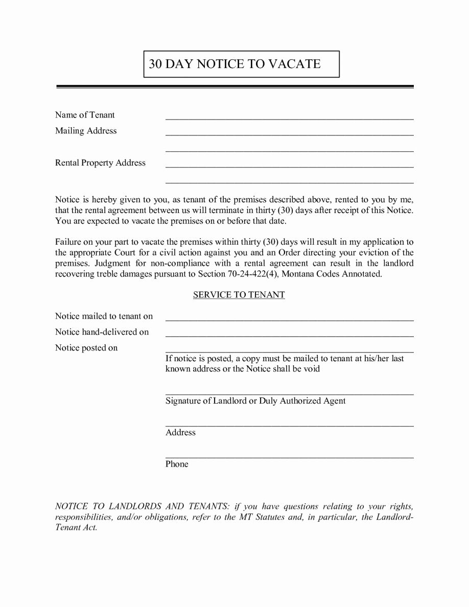 Landlord Notice To Vacate Inspirational Landlord 30 Day Notice Letter Examples Free Tenant To Being A Landlord 30 Day Eviction Notice Lettering