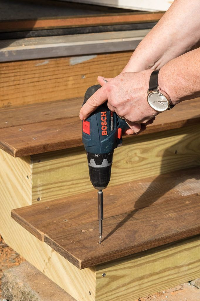 Best How To Build Steps Using Ipe Decking How To Build Steps 640 x 480