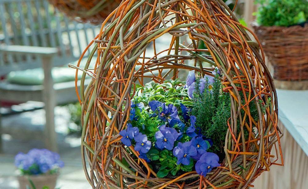 Blumenampeln selber machen 3 einfache Ideen Blumen