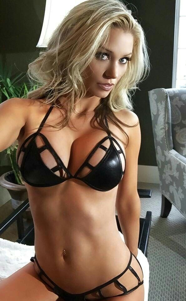 Sexy Blonde Milf Lingerie