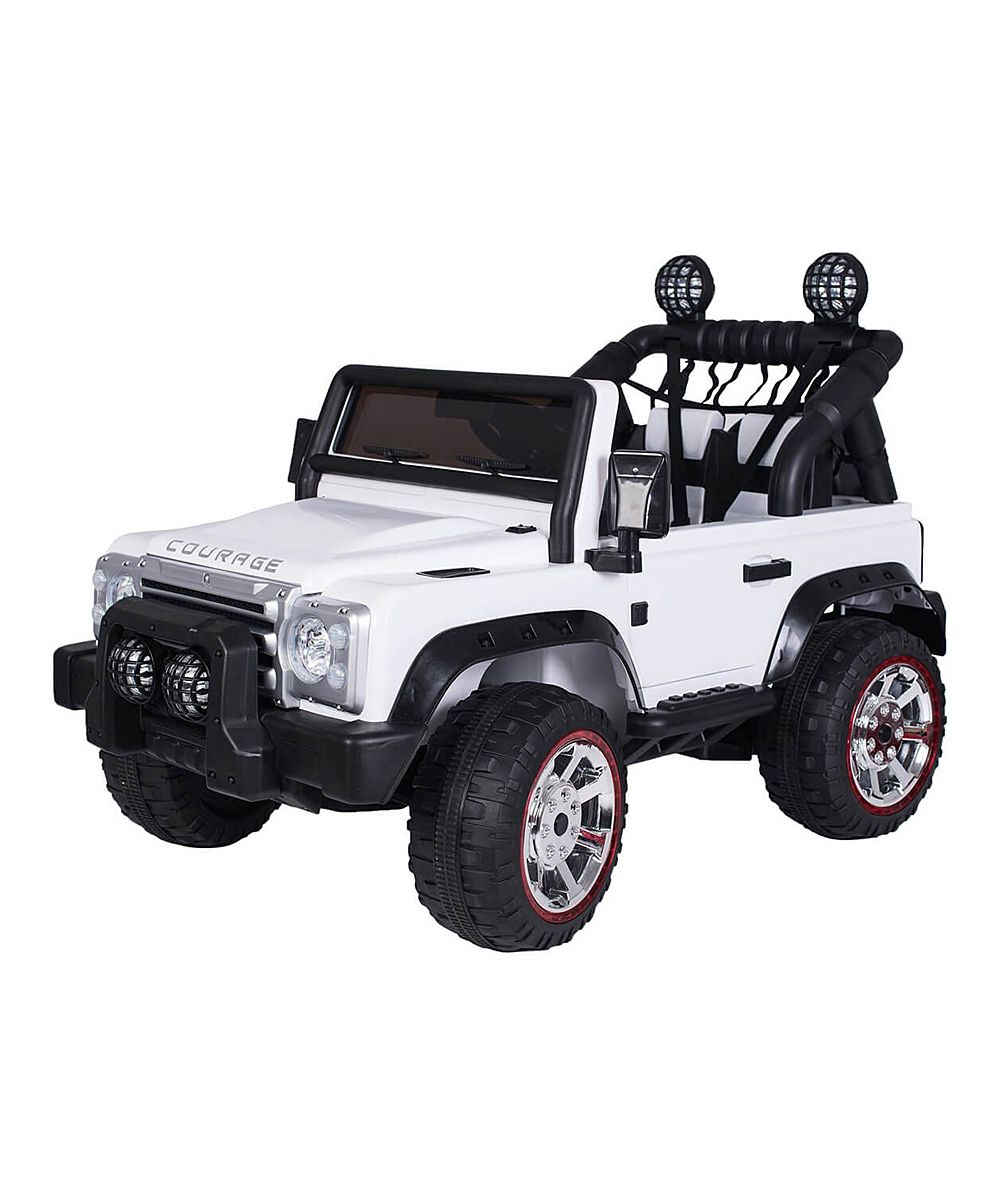 White Jeep Ride On Baby Play Pinterest White Jeep Jeep And