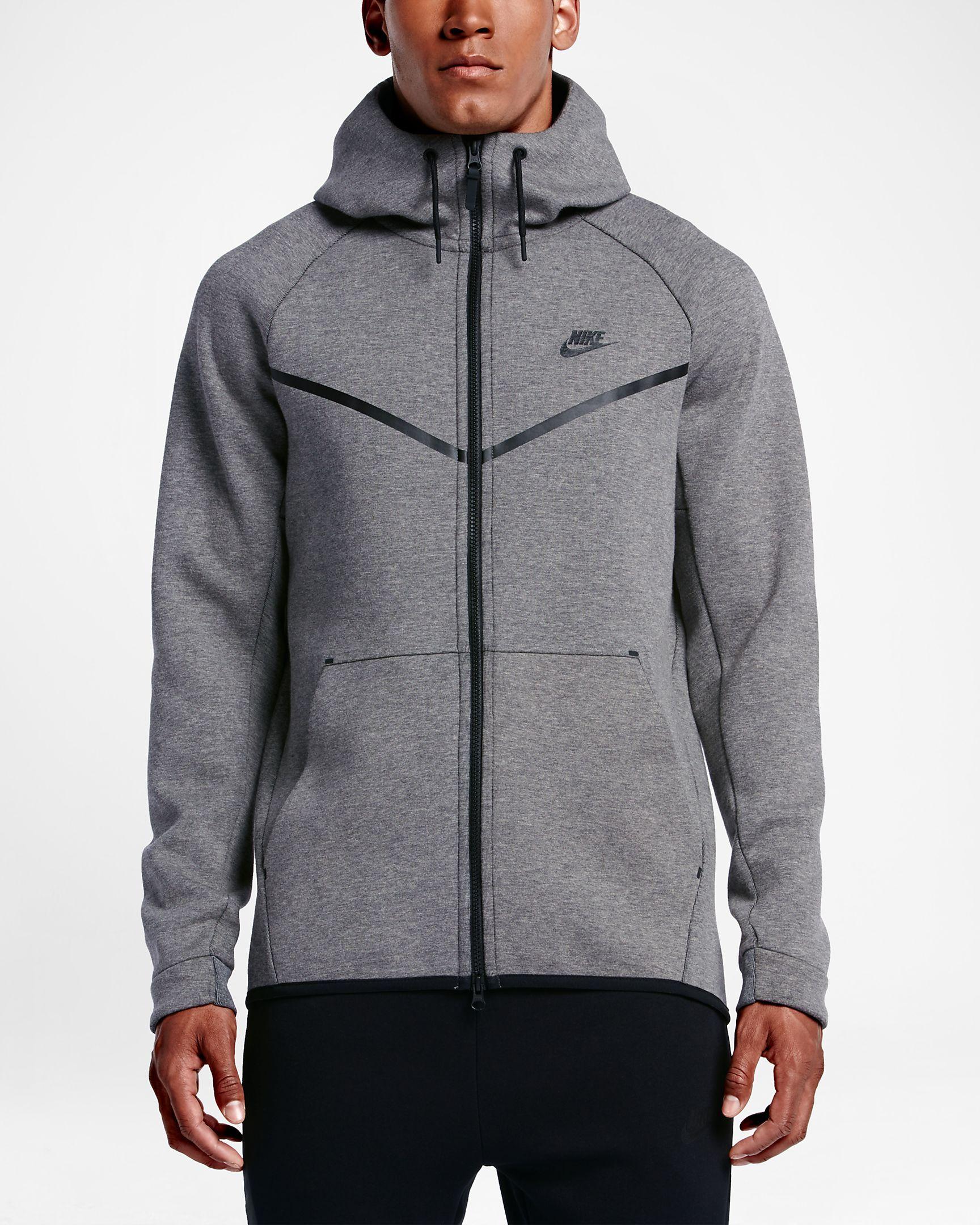 Nike Sportswear Tech Fleece Windrunner Men's FullZip Hoodie
