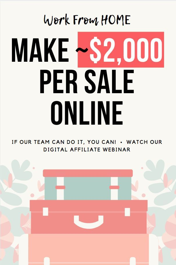~$2,000 sales - How to make money online and how to work from home? Good question! We have an amazing team that knows how to use top social media platforms for affiliate marketing so that you can make ~$2,000 sales with a water product as a digital entrepreneur!! Work from home or travel and work from anywhere with wifi - exciting!! Start your own business!