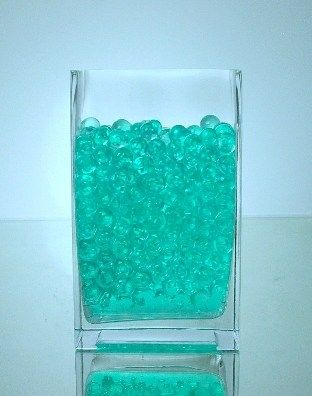 Teal Jelly Decor Dozen Packs Let There Be A Wedding 101213