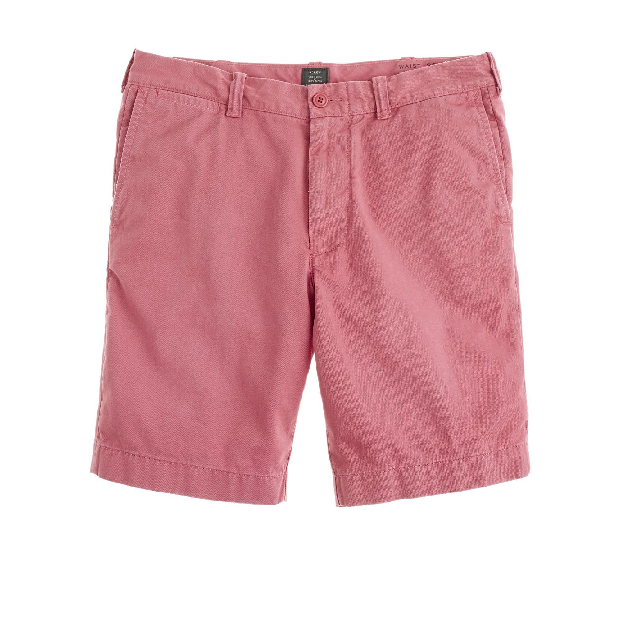 9 stanton short in garmentdyed cotton bermudas