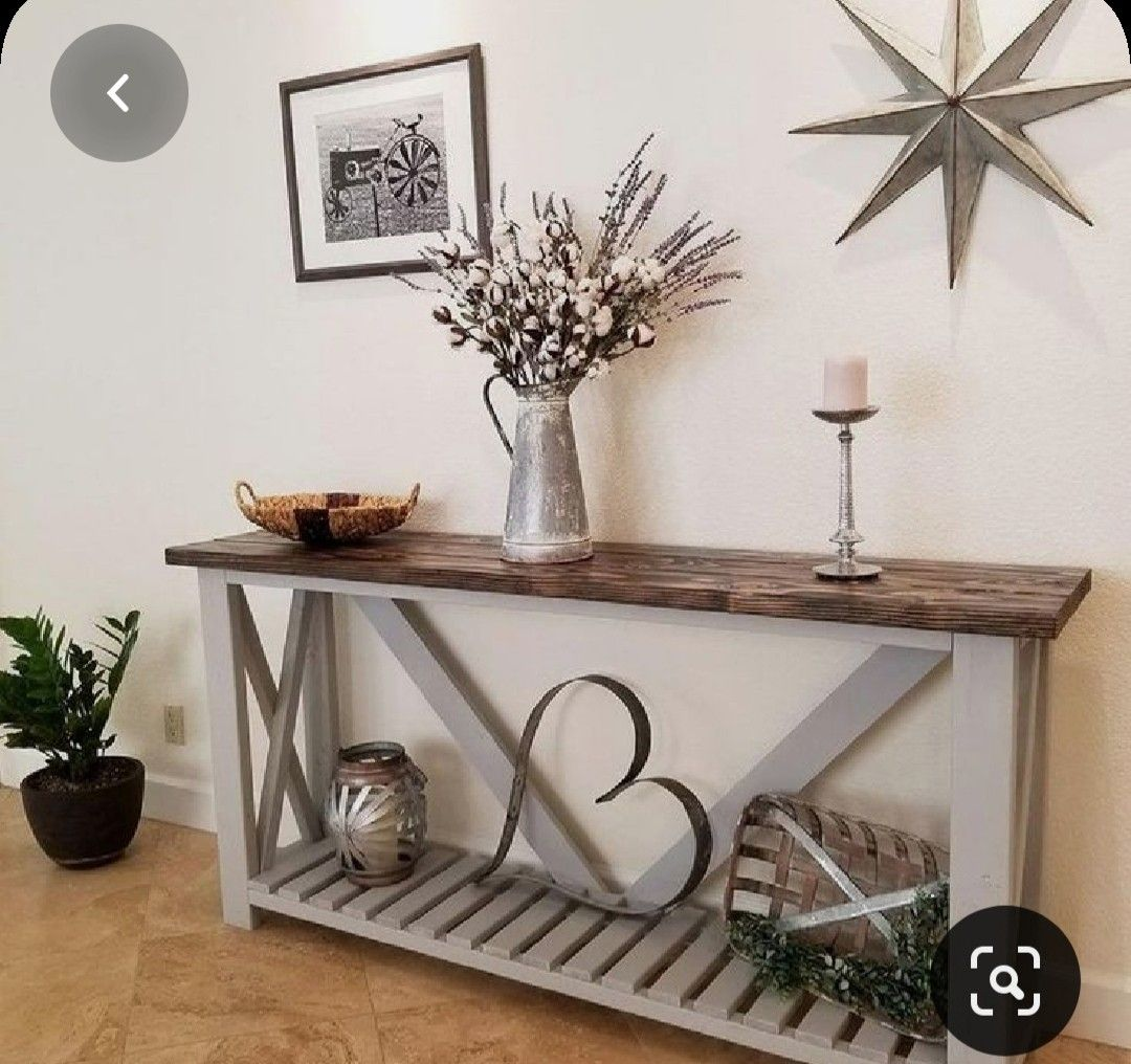 Pin By Kim Malinowski On Home In 2020 Rustic Consoles