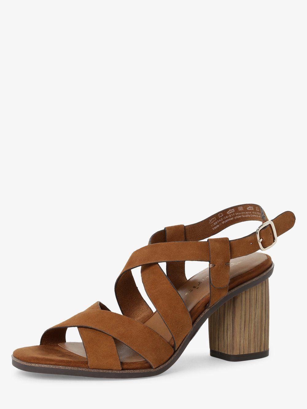 Damen Sandaletten aus Leder in 2020 | Leder, Sandaletten und