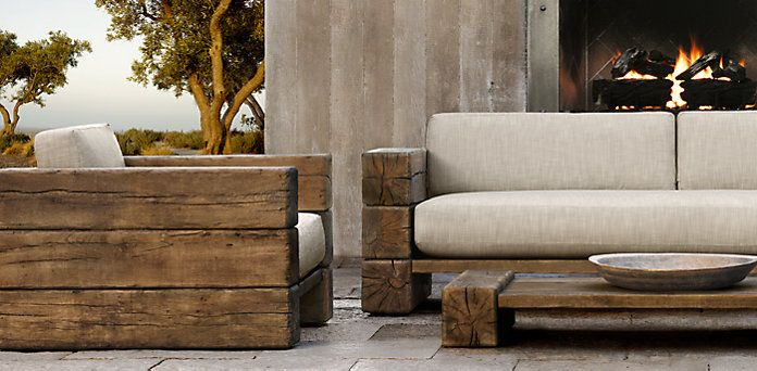 The Aspen Outdoor Funriture Collection Restoration Hardware Furniture, Diy  Outdoor Furniture, Diy Furniture,