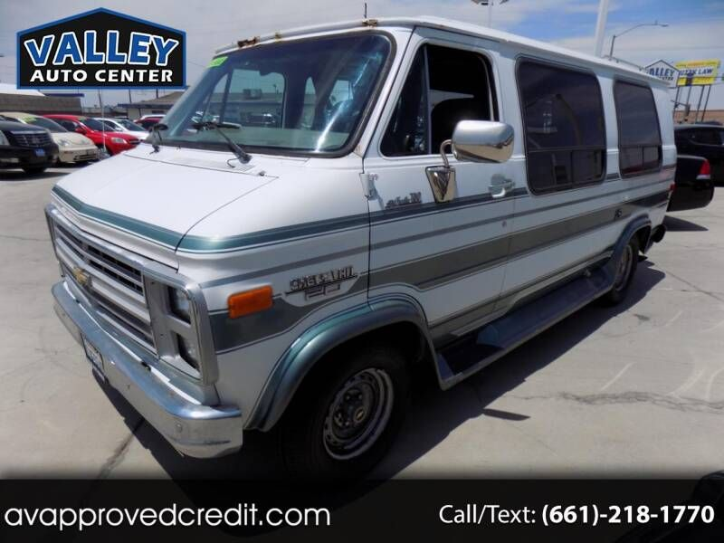 This 1991 Chevrolet Chevy Van G20 Is Listed On Carsforsale Com For 4 995 In Lancaster Ca This Vehicle Includes Air Conditioning A In 2020 Chevy Van Chevy Chevrolet