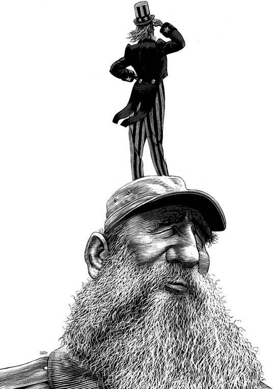 The Political Cartoons of Ricardo Martinez. S)