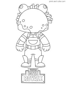 Fortnite Coloring Pages Print And Color Com Coloring Pages Cartoon Coloring Pages Fortnite