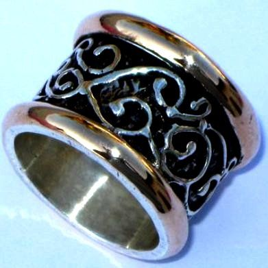Designer ring Israeli silver and gold Israeli jewelry free shipping