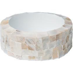 Photo of Oceana Table planter pearl white