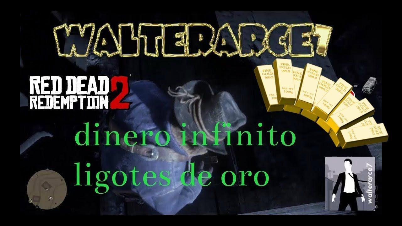 Dinero Infinito Lingotes De Oro Peresita Campamento Red Dead Redemption Red Dead Redemption