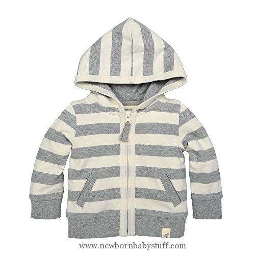 384076a77 Baby Girl Clothes Burt s Bees Baby Baby Organic Zip Front Hooded ...