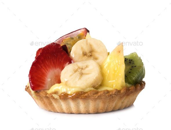 fruit tartlet in studio by cynoclub. fruit tartlet in front of white background #Sponsored #studio, #tartlet, #fruit, #cynoclub