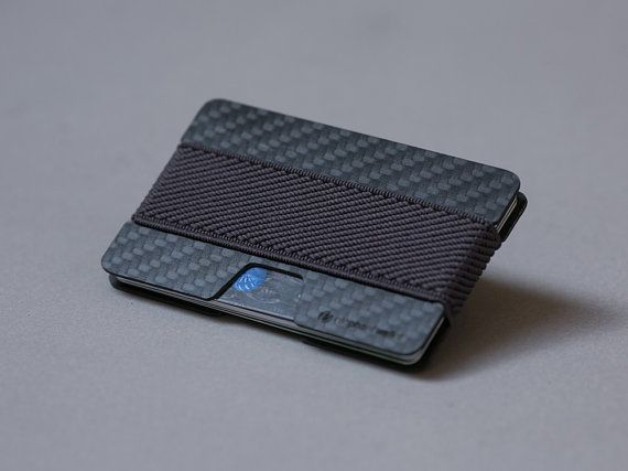 Carbon Fiber Herren  Die Minimalistische Kreditkarteninhaber Schlanke Geld Clip