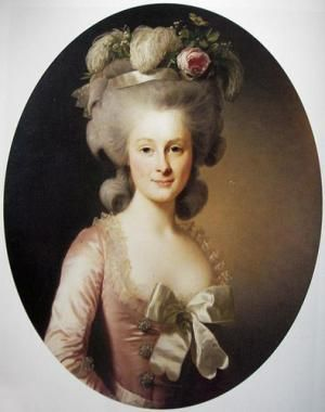 Maria Luisa of Savoy, Princesse de Lamballe (1749-1792) Marie Antoinette's best friend and confidante