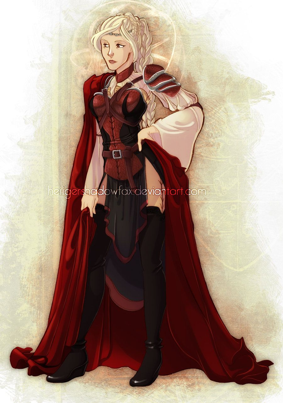 Visenya Targaryen By Heiligershadowfax Queen Visenya Was The