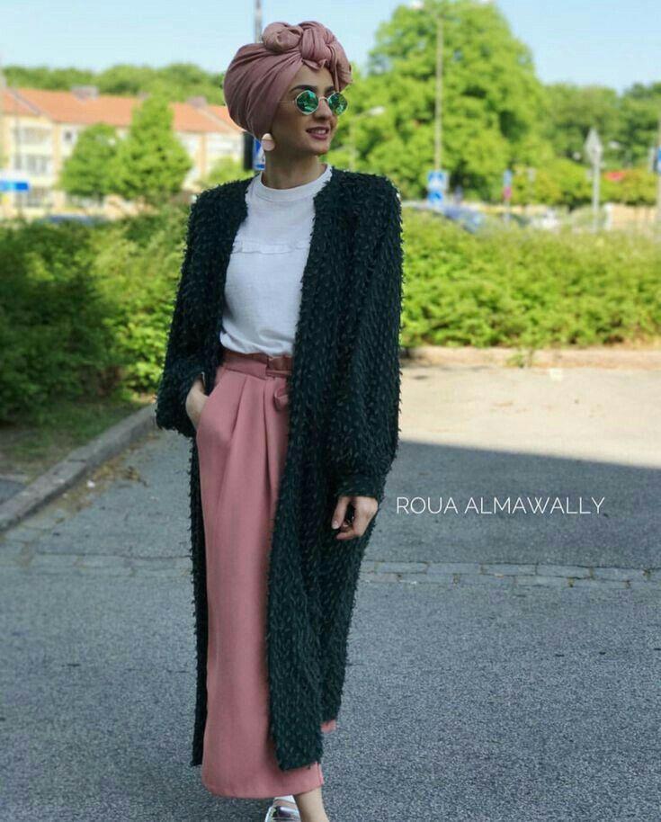 Pin by Nadia Mustafa on Clothes racks | Hijab fashion