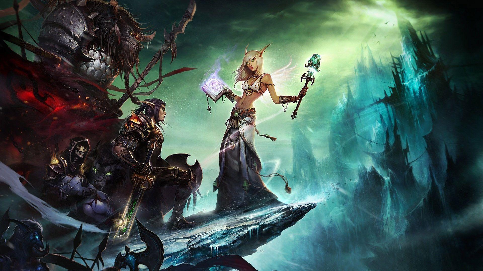 Animated Wallpaper Windows 10 World Of Warcraft