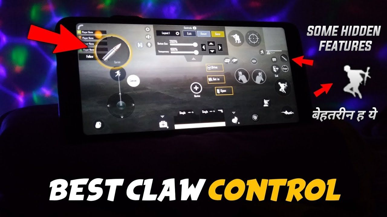 4 Finger Claw Pubg Mobile Best Control Setup For Pubg