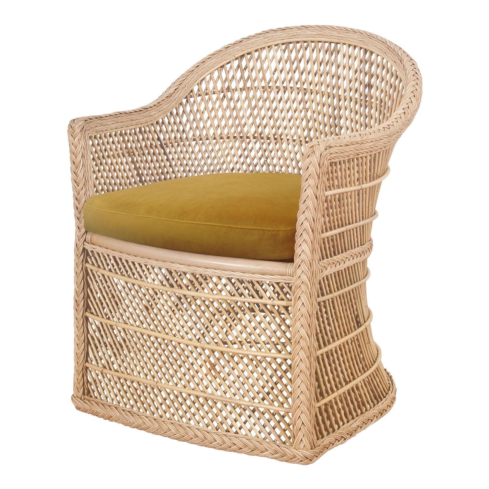 Tahitian Chair Natural | Chair, Rattan, Rattan furniture
