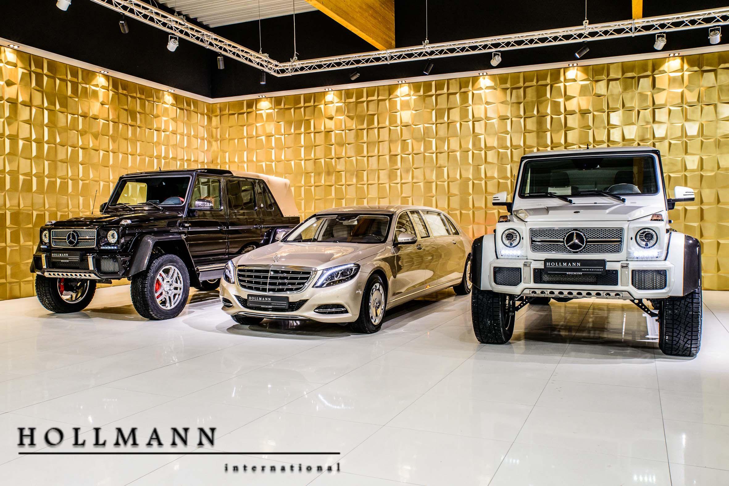 Mercedes Garage Roermond : Hollmann international maybach mercedes benz maybach g