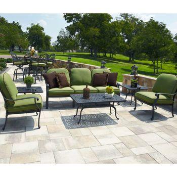 I Like The Green Veranda Classics San Marino 6 Piece Deep Seating