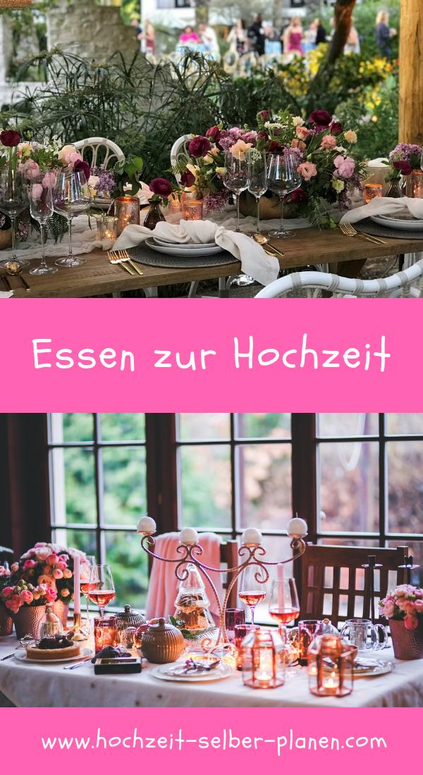 Essen Zur Hochzeit Essen Und Getranke Auf Einer Hochzeitsfeier Sind