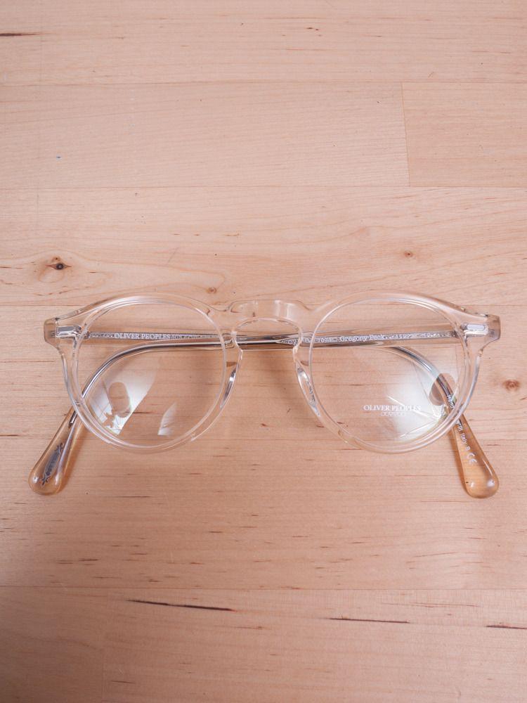 d6c529e720 Oliver Peoples - Gregory Peck Buff Eyeglasses — E-G