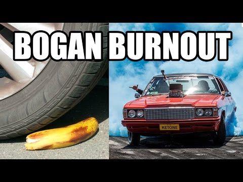 Epic Bogan Burnout FAIL! (Australia) - YouTube