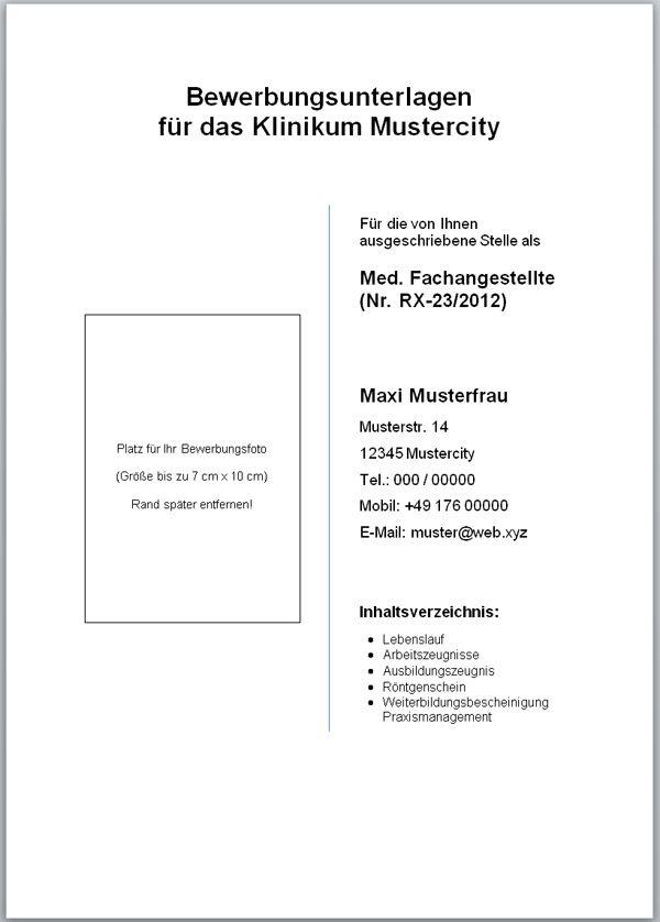 Kostenlose Deckblatt Muster Word Vorlage Zum Download Zukünftige - business report layout example