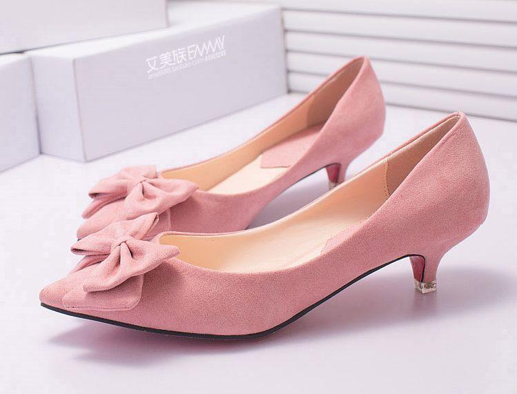 Stylish Kitten Heels