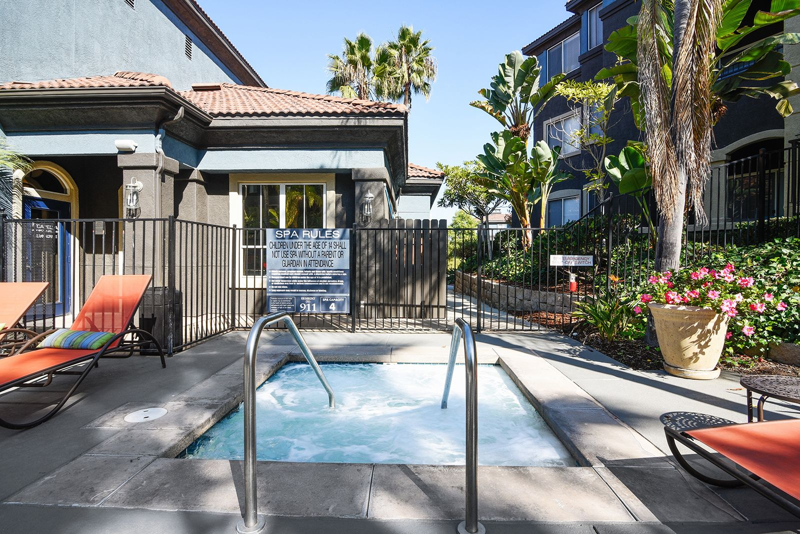 Our Spa Is An Amazing Place To Relax On Those Chilly California Nights Capellaatranchodeloro Ca Apar Renting A House Bedroom Floor Plans Luxury Apartments