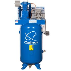 Quincy compressor 5 hp 80 gallon two stage electric air compressor air compressor sciox Images