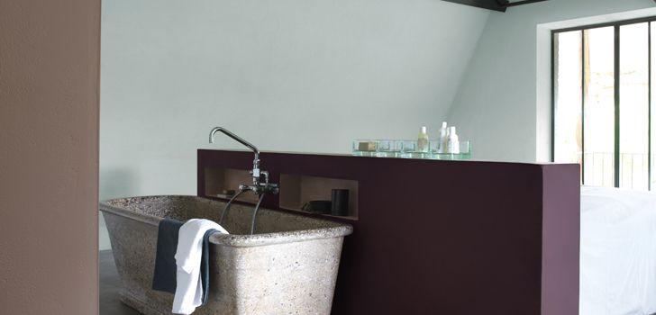 damson dreambathroom paint dulux  bathroom spa spa
